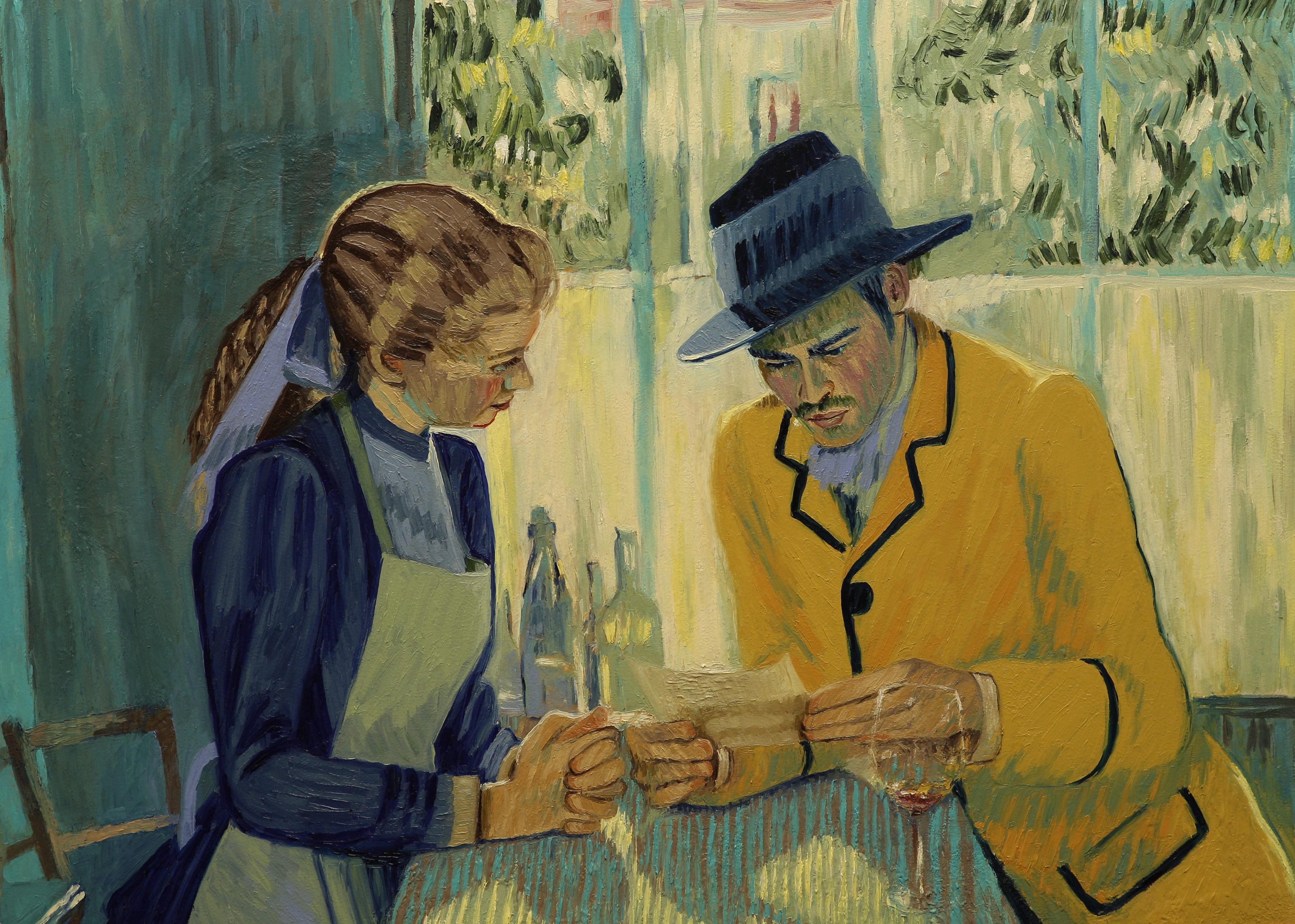 Loving Vincent - Một lần hiếm hoi, người ta thấy những cành diên vĩ lay động - Ảnh 5.