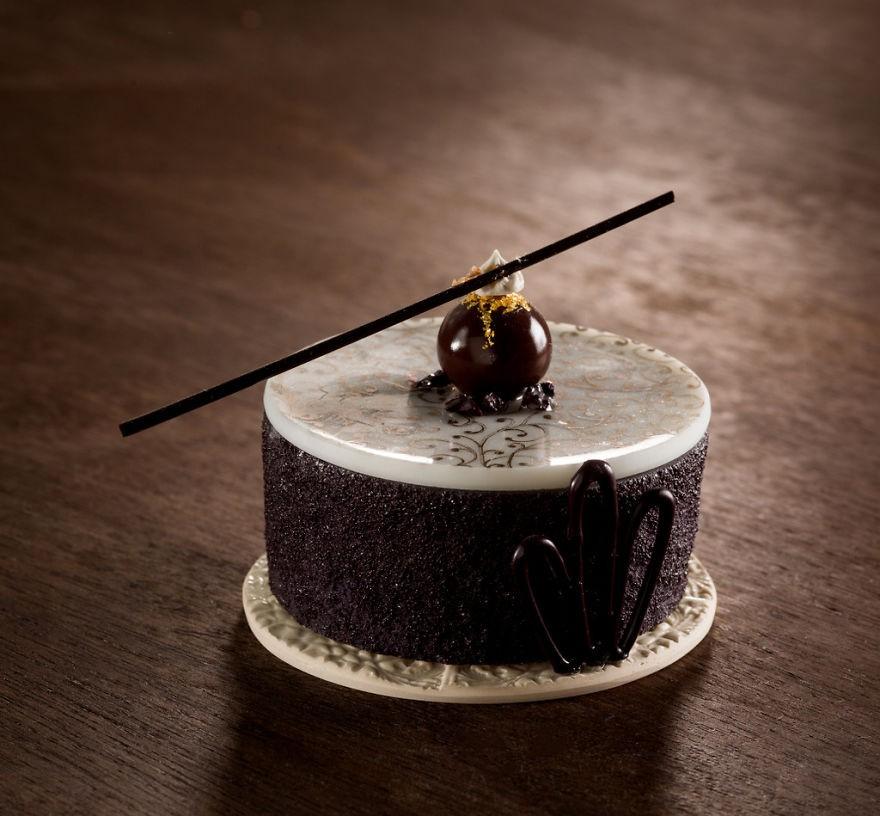 Chiêm ngưỡng những chiếc bánh ngọt vô cùng đẹp mắt được làm bằng thủy tinh và sứ - Ảnh 5.