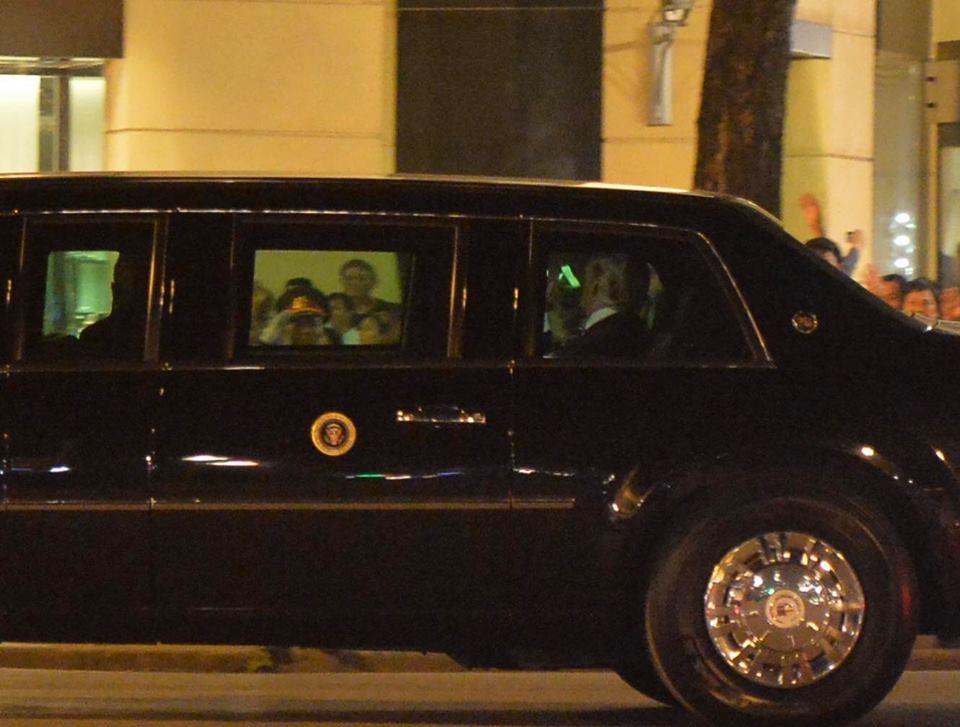 Tổng thống Mỹ Donald Trump đến Hà Nội, an ninh thắt chặt ở các tuyến phố trung tâm - Ảnh 24.