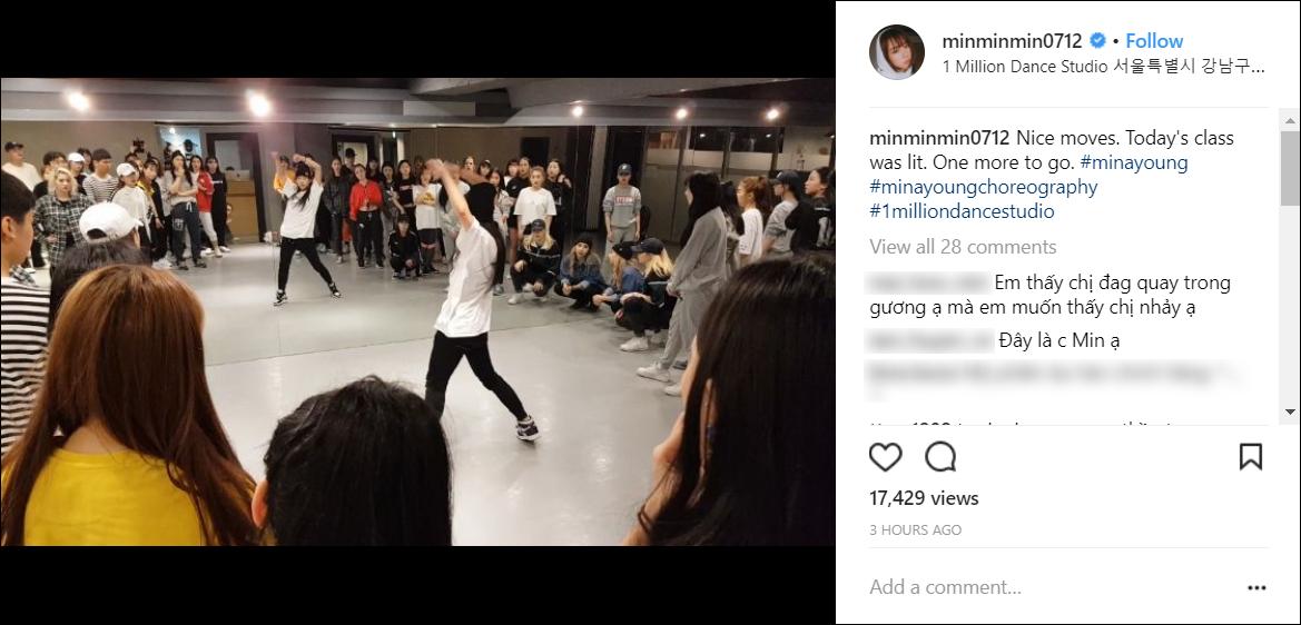 Nơi Min đang học nhảy tại Hàn Quốc có gì mà khiến nhiều fan Việt phát sốt đến vậy? - Ảnh 3.