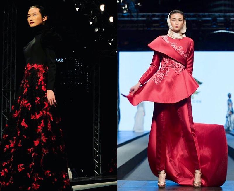 Tưởng theo chồng bỏ cuộc chơi, Kha Mỹ Vân vẫn âm thầm công phá Dubai Modest Fashion Week, nhận cát xê khủng - Ảnh 3.