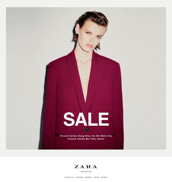 Ngày mai, Zara, Pull&Bear và Stradivarius Việt Nam đồng loạt giảm giá toàn bộ đồ Thu Đông, mức giảm lên tới 50% - Ảnh 1.