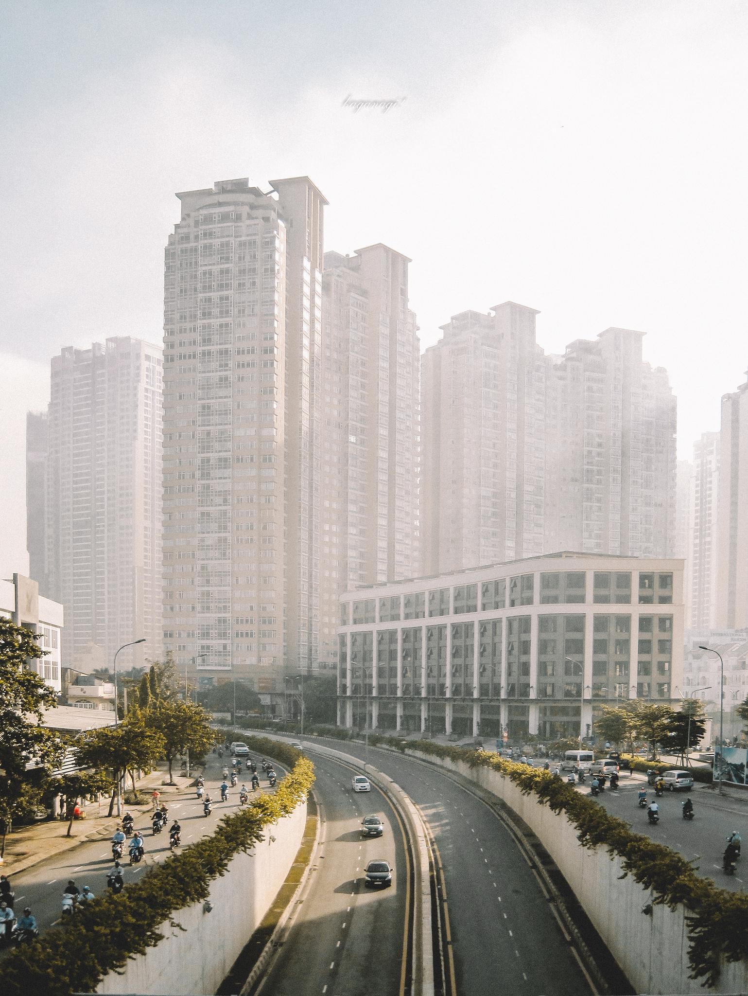 9x với loạt ảnh chụp từ trên cao khiến bạn ngỡ ngàng vì vẻ đẹp choáng ngợp của Sài Gòn - Ảnh 7.