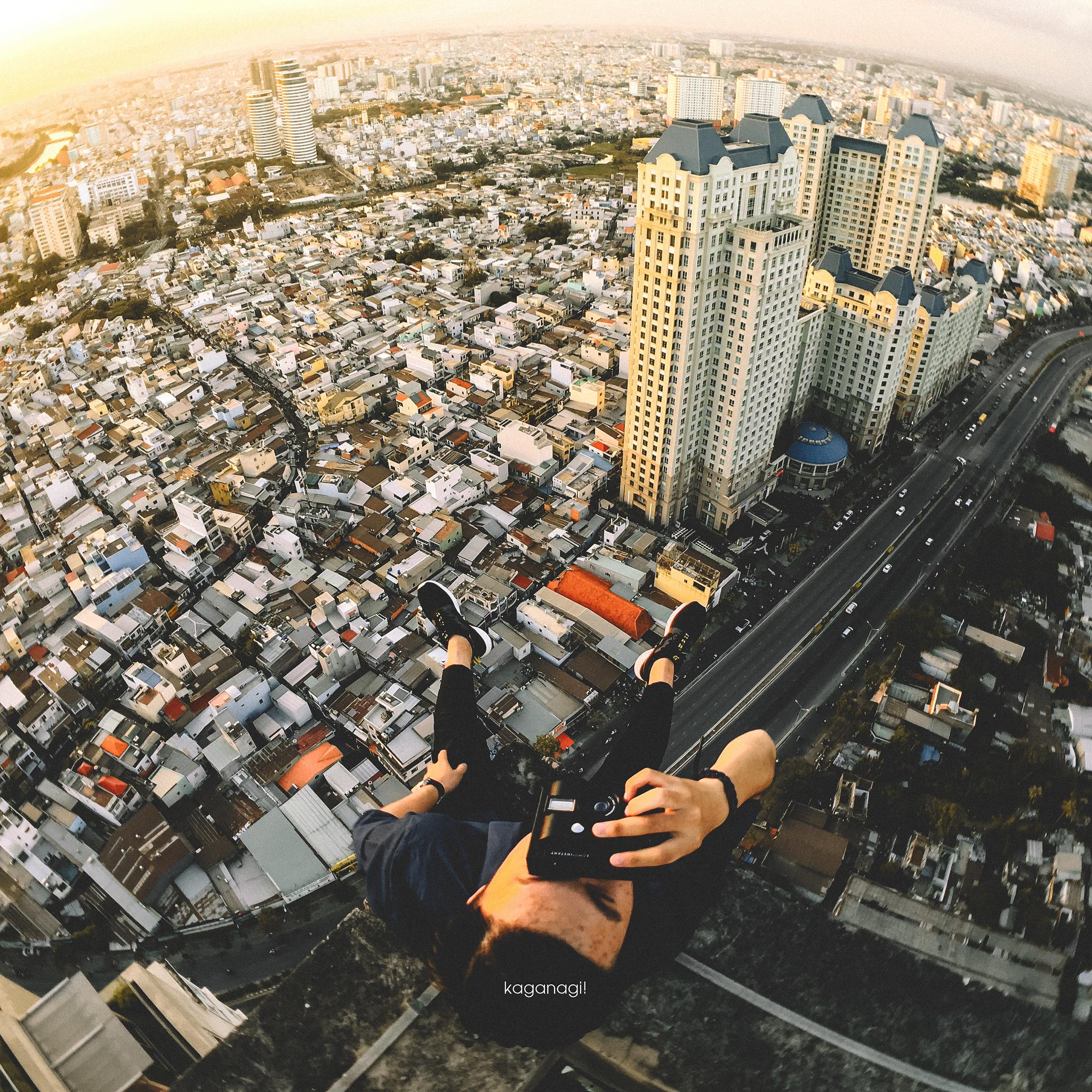 9x với loạt ảnh chụp từ trên cao khiến bạn ngỡ ngàng vì vẻ đẹp choáng ngợp của Sài Gòn - Ảnh 6.