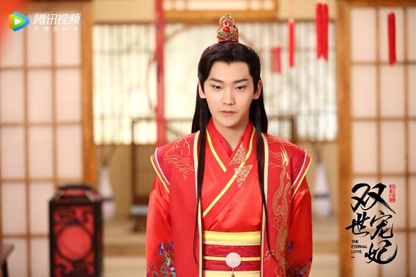 Những cảnh tình bể bình của Lương Khiết và Hình Chiêu Lâm trong phim Song thế sủng phi