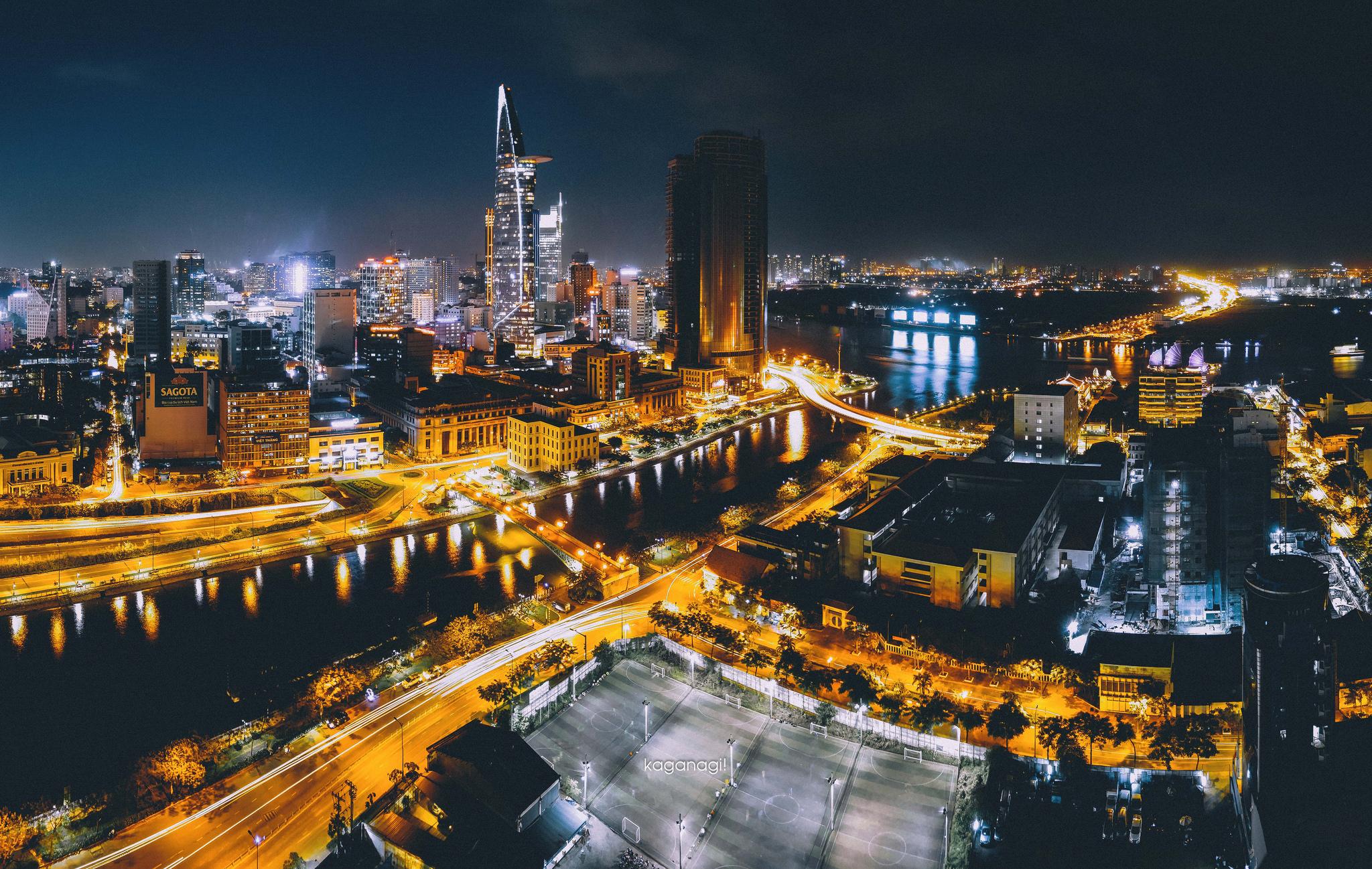 9x với loạt ảnh chụp từ trên cao khiến bạn ngỡ ngàng vì vẻ đẹp choáng ngợp của Sài Gòn - Ảnh 12.