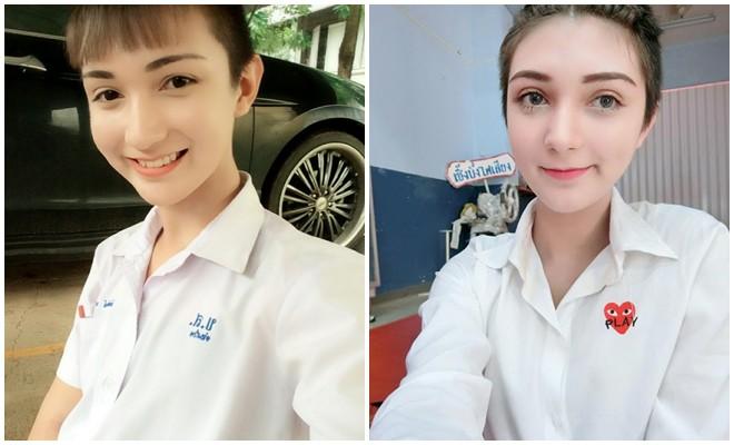 Xinh như thiên thần thế này nhưng cô bạn Thái Lan lại khiến người ta choáng váng khi biết được giới tính thật - Ảnh 4.
