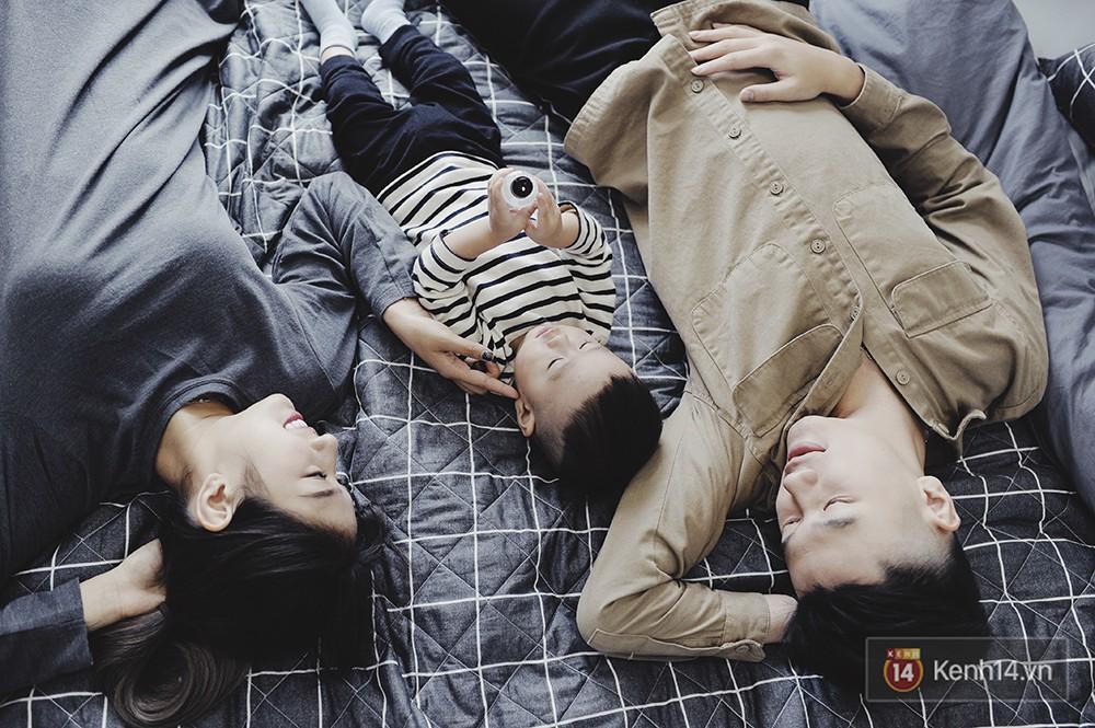Gia đình trong mơ Trang Lou - Tùng Sơn: Có con là điều khó khăn nhất nhưng cũng hạnh phúc nhất! - Ảnh 13.