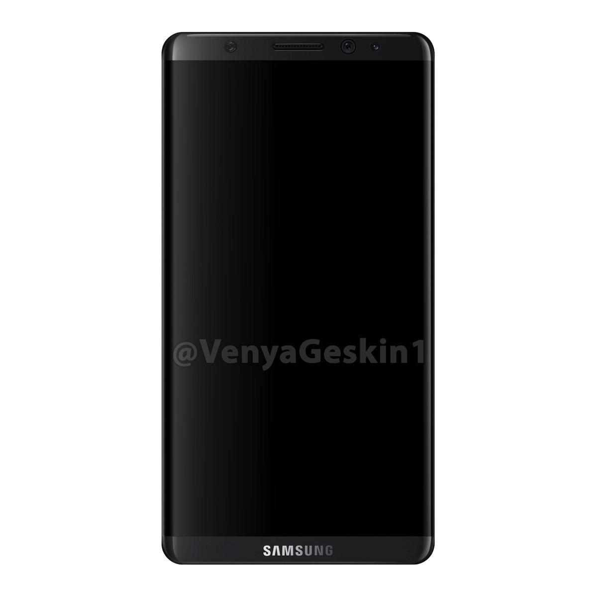 Galaxy S8 lộ diện với ngoại hình đẹp miễn chê, iPhone sẽ ế dài cổ cho xem - Ảnh 2.