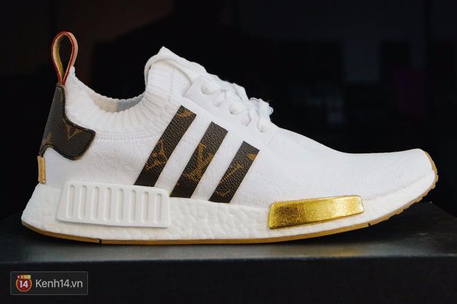 9x Việt độ giày từ đồ Louis Vuitton x Supreme hàng chục triệu đồng đang khiến giới chơi sneakers phát sốt - Ảnh 24.