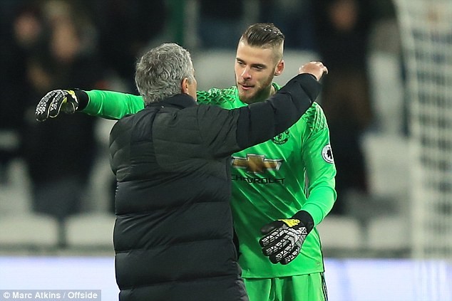 Mourinho không muốn De Gea tiếp tục nhận giải Cầu thủ hay nhất năm của Man Utd - Ảnh 3.