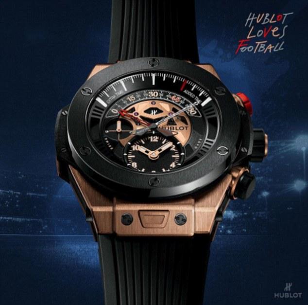 6 chiếc đồng hồ trị giá 1,6 tỷ mất tích bí ẩn trong đêm Gala FIFA - Ảnh 2.