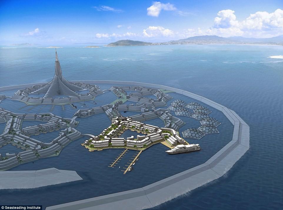 Chưa đầy 3 năm nữa, thành phố nổi đầu tiên trên thế giới sẽ xuất hiện và đó sẽ là một công trình vĩ đại - Ảnh 3.