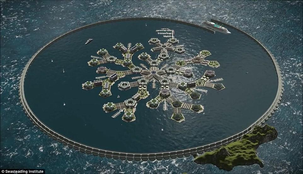 Chưa đầy 3 năm nữa, thành phố nổi đầu tiên trên thế giới sẽ xuất hiện và đó sẽ là một công trình vĩ đại - Ảnh 1.