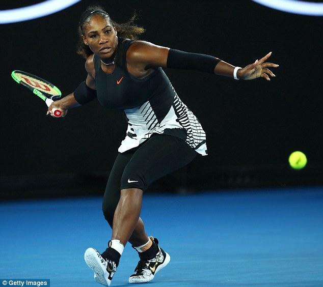 Mang thai được 8 tuần, Serena Williams vẫn vô địch Australia Open - Ảnh 4.
