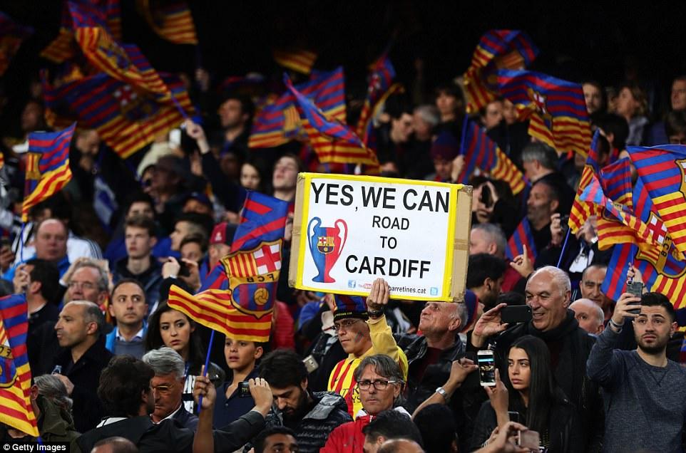 Không có phép màu, Barca chính thức chia tay Champions League - Ảnh 1.