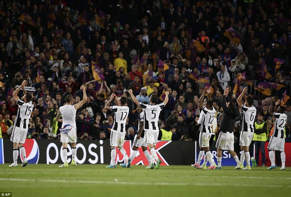 Không có phép màu, Barca chính thức chia tay Champions League - Ảnh 12.