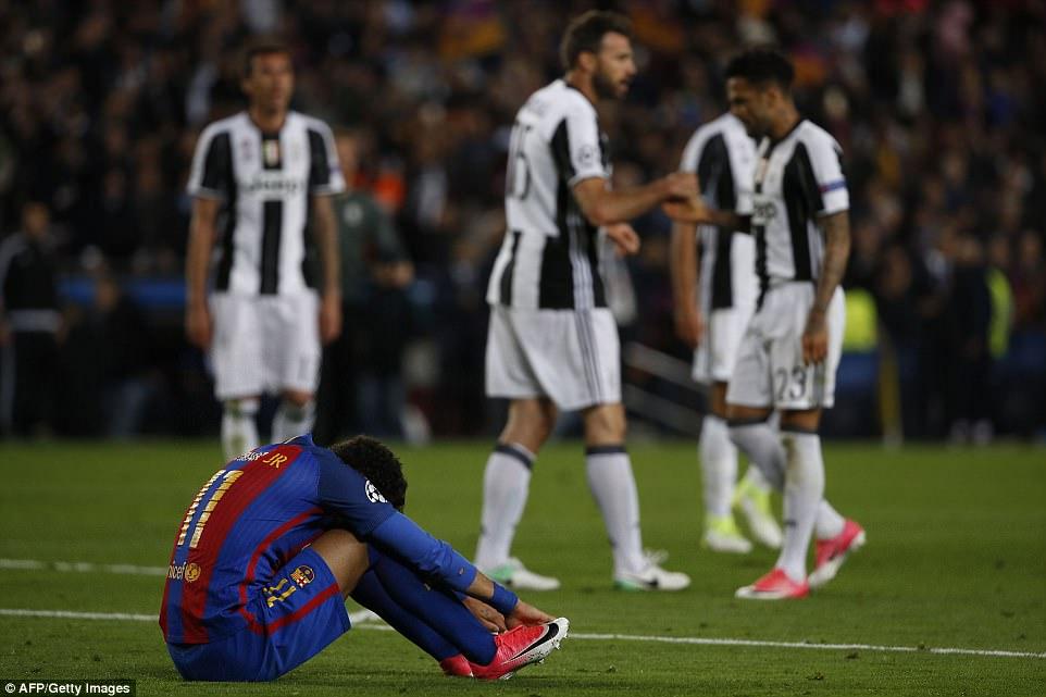 Không có phép màu, Barca chính thức chia tay Champions League - Ảnh 9.