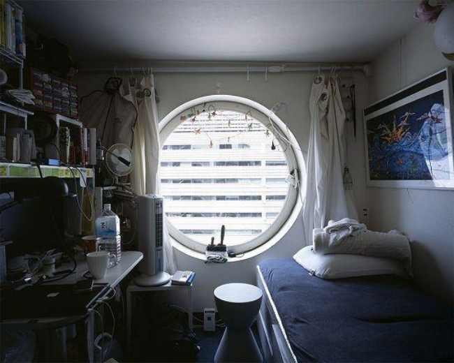 Mục sở thị những căn phòng ốc sên siêu nhỏ - đặc sản của người Nhật - Ảnh 5.