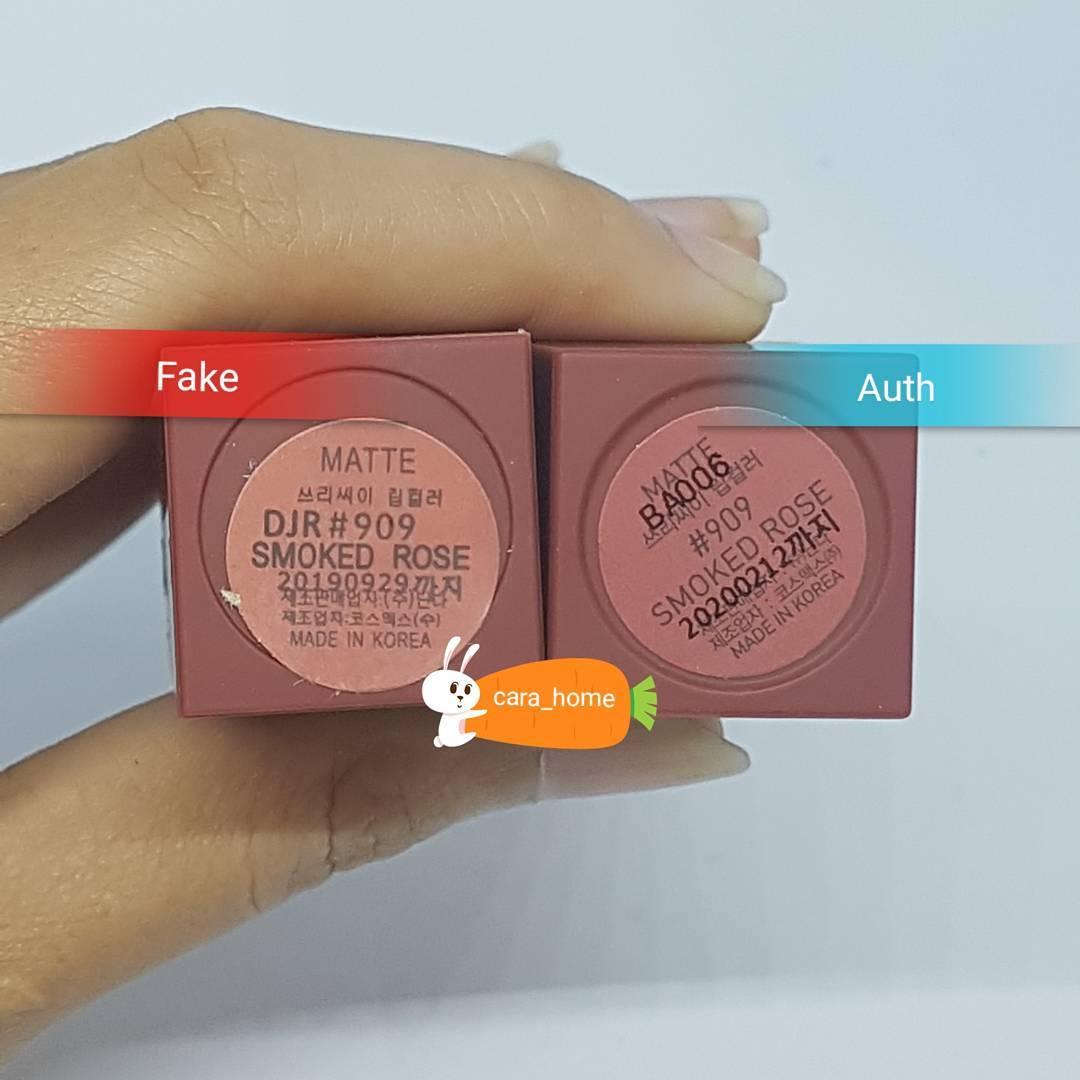 Clip: Đập hộp, swatch son 3CE fake - Nếu không chú ý sẽ rất khó phân biệt! - Ảnh 11.