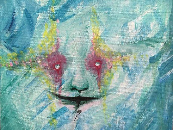 Bộ tranh thuật lại ảo giác kinh hoàng mà cô gái mắc bệnh tâm thần phân liệt nhìn thấy - Ảnh 13.