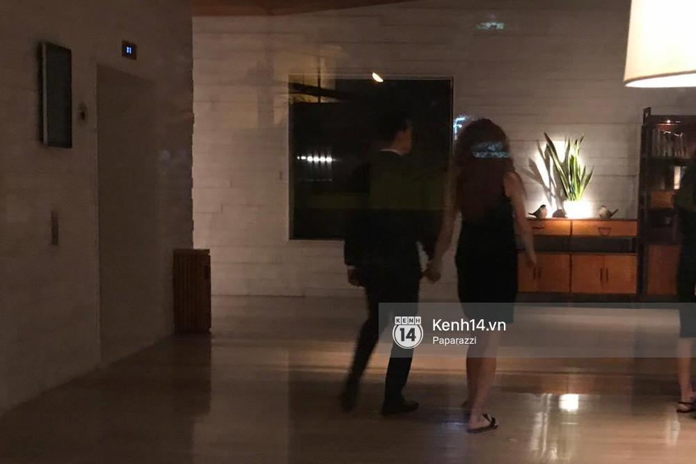 HOT: Bắt gặp Hà Hồ - Kim Lý tay trong tay đi ăn đêm rồi cùng về chung một nhà - Ảnh 5.