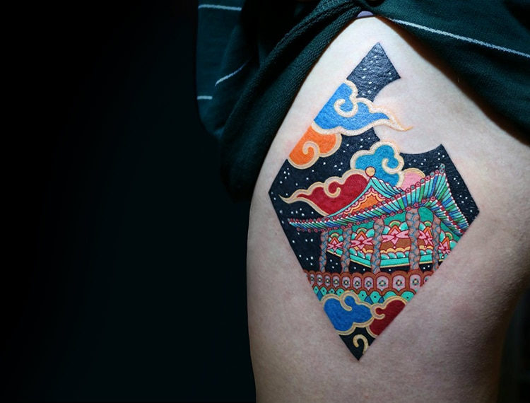Bộ sưu tập hình xăm mang đậm màu sắc hoài cổ xứ kim chi - Ảnh 7.