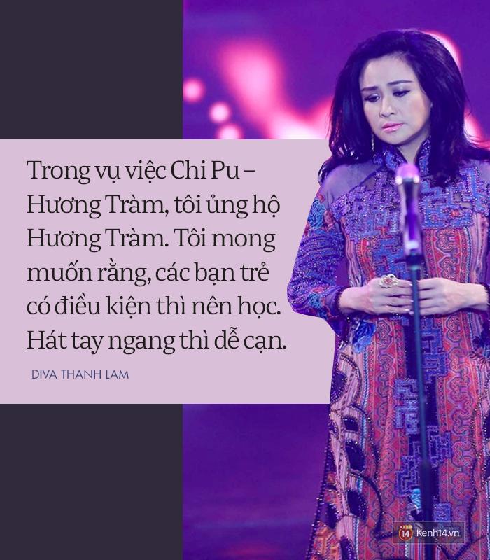 8 phát ngôn trong âm nhạc thẳng như ruột ngựa, chẳng ngại đụng chạm của Diva Thanh Lam - Ảnh 8.
