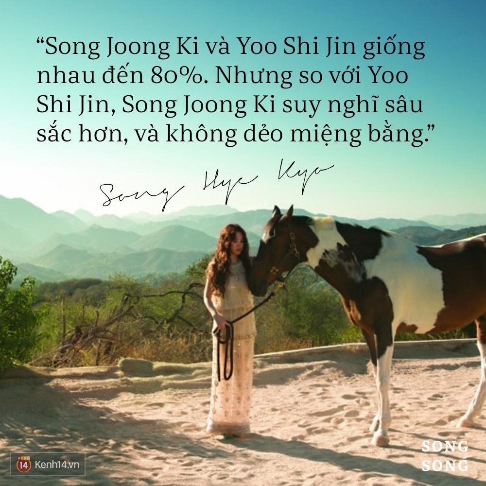 Xem cách Song Joong Ki và Song Hye Kyo tỏ tình mới thấy: Một khi đã yêu, mọi lời nói đều có thể ngôn tình hóa - Ảnh 8.