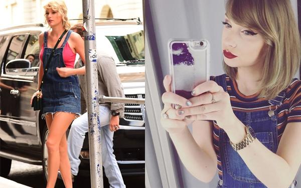 Muốn xinh như Taylor Swift, bạn chỉ cần học makeup và mix đồ như cô gái này - Ảnh 2.