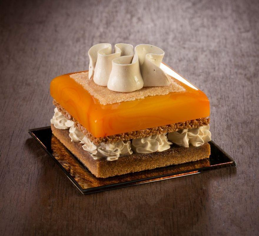 Chiêm ngưỡng những chiếc bánh ngọt vô cùng đẹp mắt được làm bằng thủy tinh và sứ - Ảnh 7.
