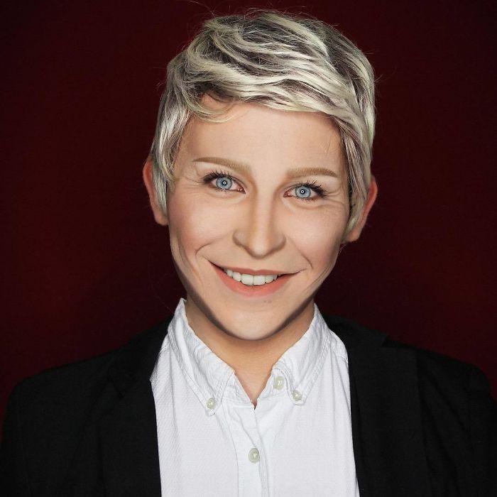 Nghệ sĩ trang điểm có thể hóa trang thành hàng trăm khuôn mặt khác nhau mà không cần photoshop - Ảnh 11.