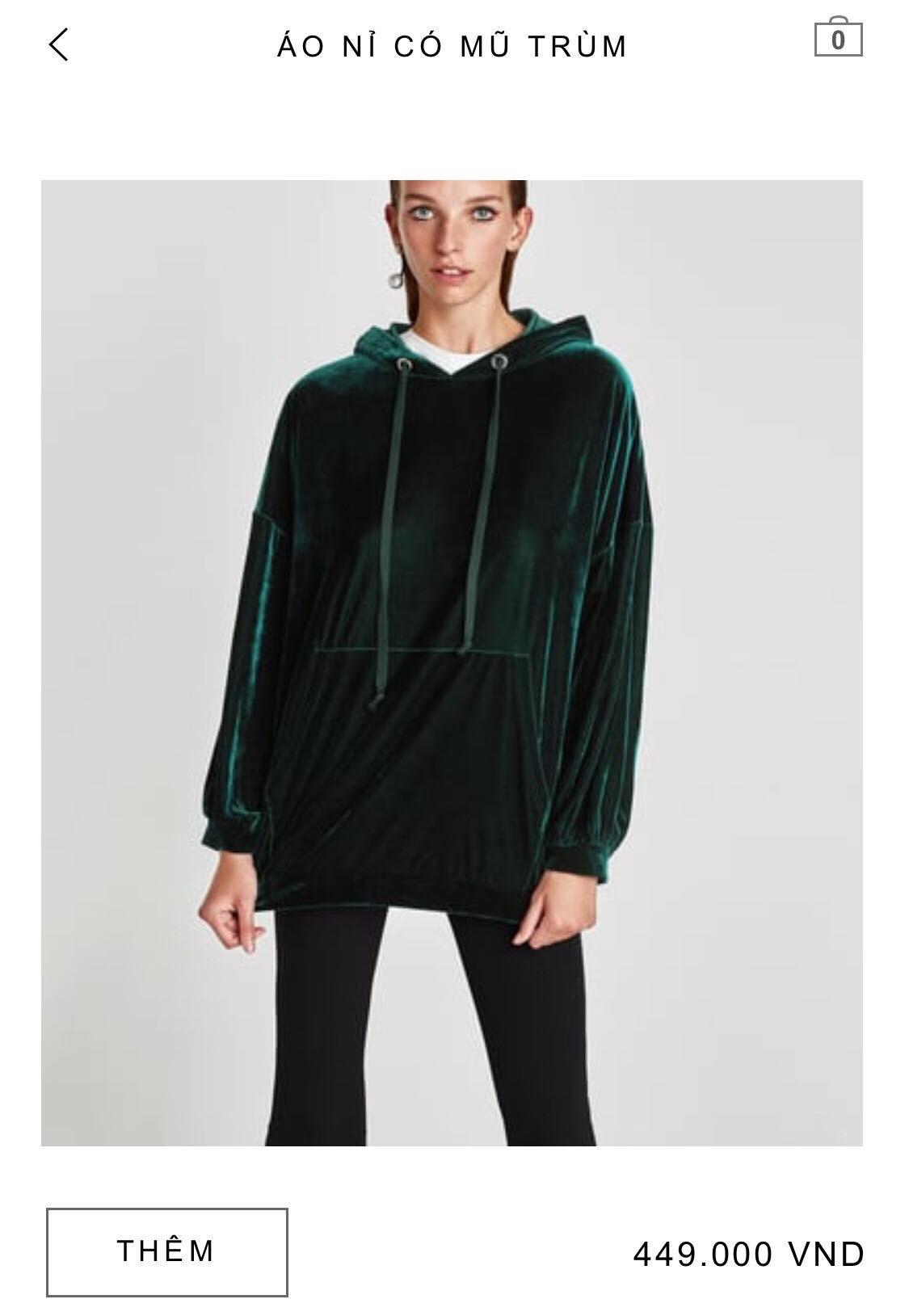 14 mẫu áo len, áo nỉ dưới 500.000 VNĐ xinh xắn, trendy đáng sắm nhất đợt sale này của Zara - Ảnh 12.