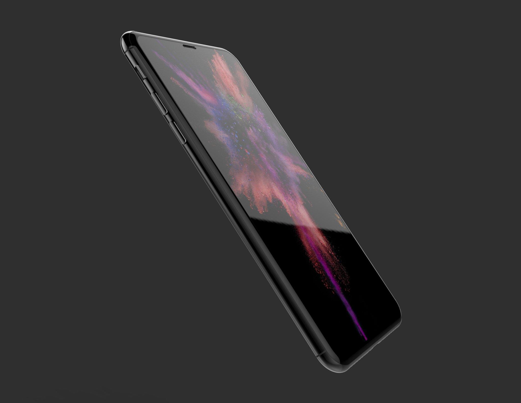 Ngắm ý tưởng iPhone 8 dễ thành sự thật nhất, bạn sẽ mê mệt bởi vẻ đẹp mĩ miều này - Ảnh 1.