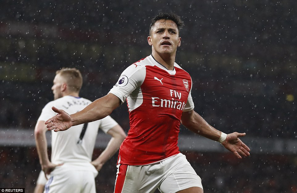 Cú đúp của Sanchez giúp Arsenal nuôi hy vọng dự Champions League - Ảnh 16.