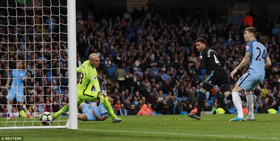 Hạ West Brom, Man City cần thêm 1 điểm để dự Champions League - Ảnh 6.