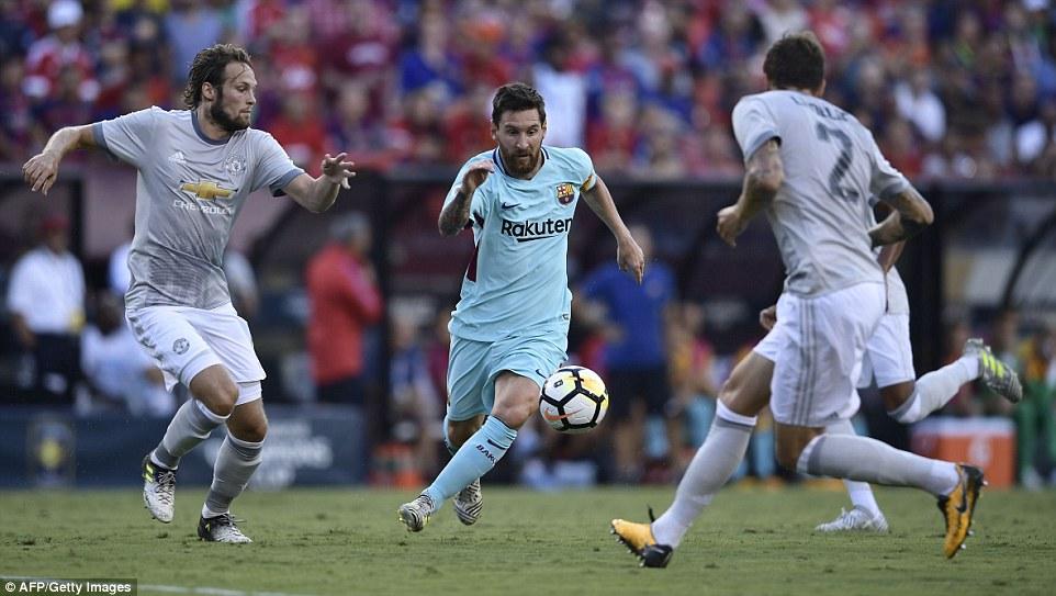 Neymar ghi bàn khiến Man Utd nhận thất bại đầu tiên ở Mỹ - Ảnh 4.