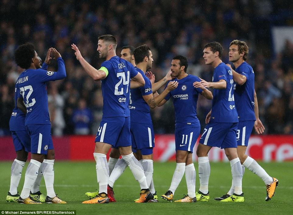 Tân binh tỏa sáng, Chelsea đánh tennis trong trận khai màn Champions League - Ảnh 13.