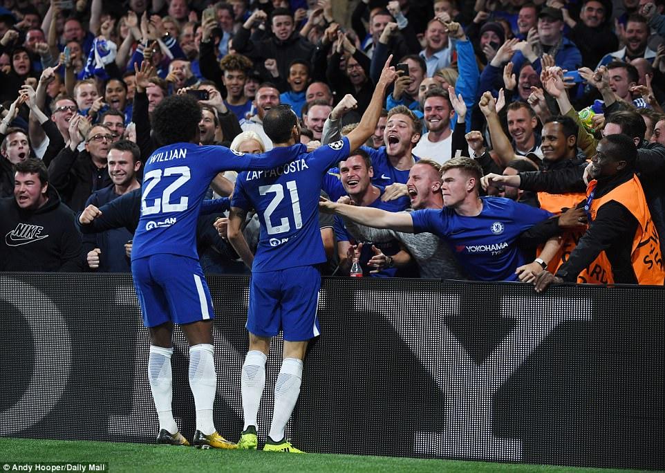 Tân binh tỏa sáng, Chelsea đánh tennis trong trận khai màn Champions League - Ảnh 4.