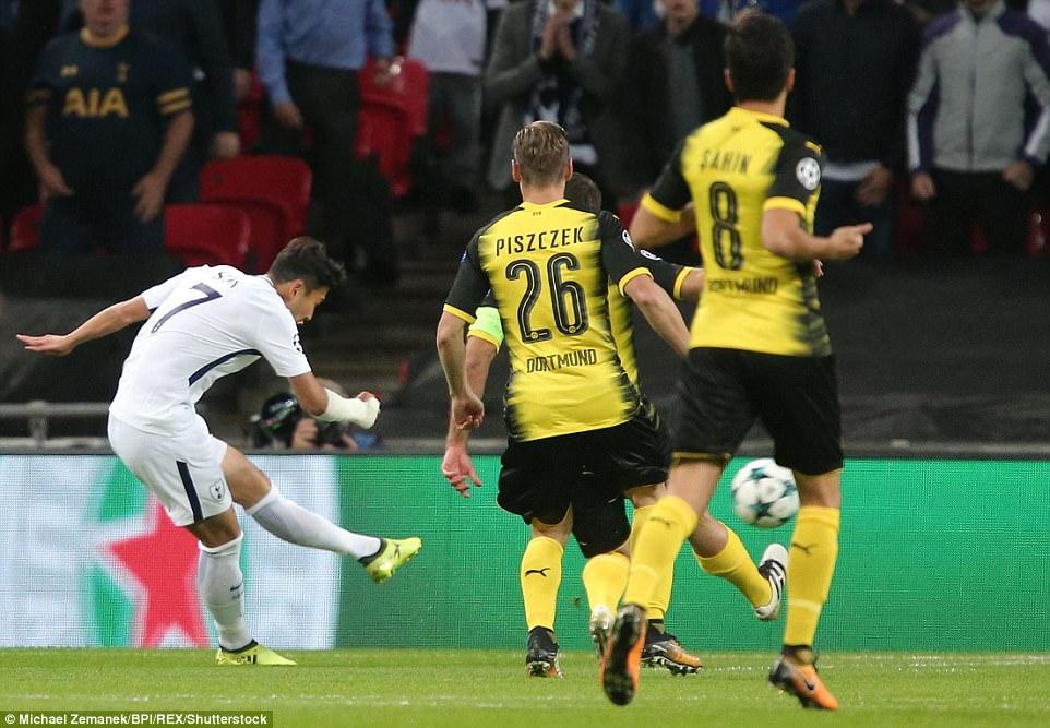 Harry Kane lập cú đúp, Tottenham thắng đậm Dortmund - Ảnh 3.