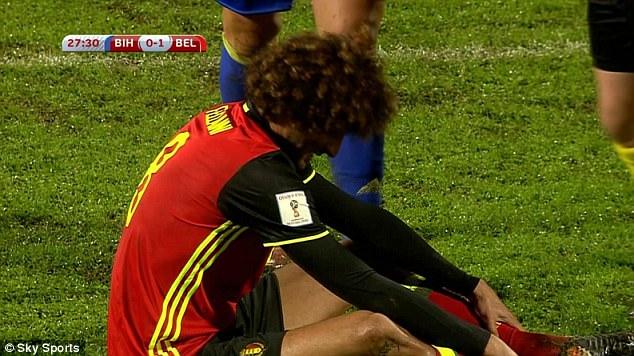 Trò cưng của Mourinho chấn thương, nguy cơ nghỉ đại chiến Liverpool - Ảnh 2.