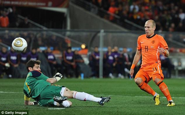 Robben lập cú đúp trong ngày giã từ sự nghiệp quốc tế - Ảnh 4.