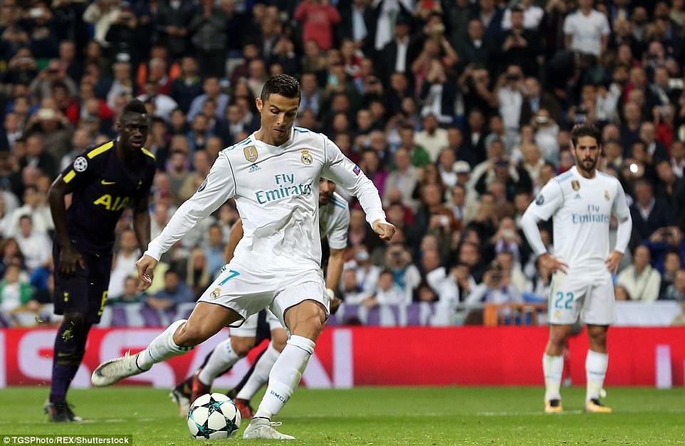 Ronaldo ghi bàn trên chấm penalty, Real Madrid thoát thua Tottenham - Ảnh 11.