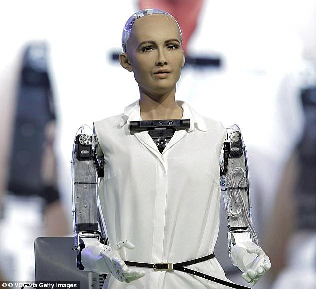 Ok, tôi sẽ hủy diệt loài người - Robot đầu tiên trong lịch sử được trao quyền công dân đã từng nói như vậy - Ảnh 2.