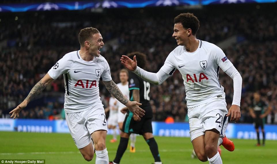 Ronaldo ghi bàn danh dự trong ngày Real Madrid bị Tottenham vùi dập - Ảnh 7.