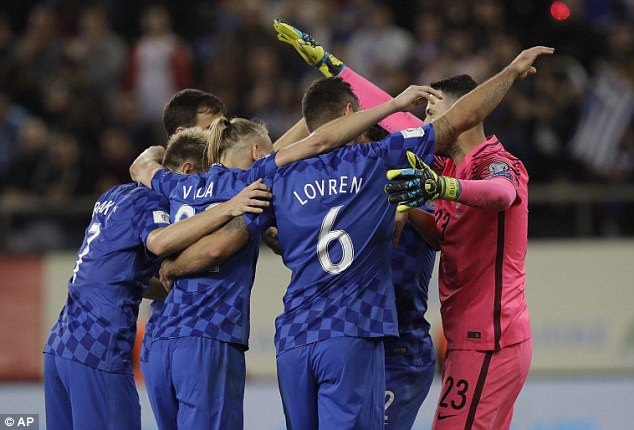 Croatia giành vé tới Nga sau trận hòa Hy Lạp