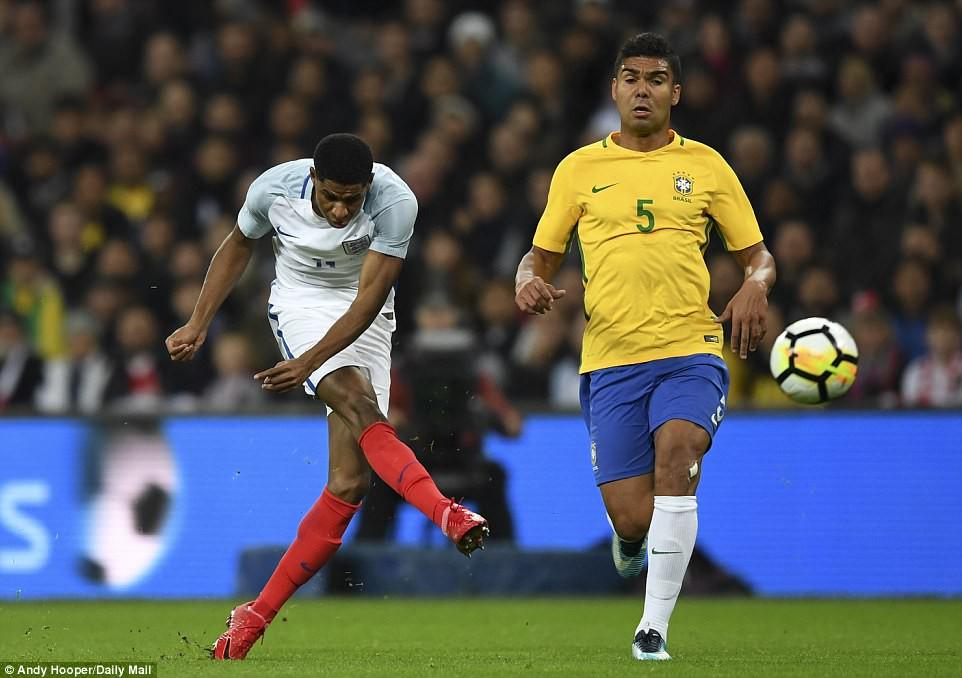 Neymar bất lực, Brazil hòa không bàn thắng với Anh trên sân Wembley - Ảnh 5.
