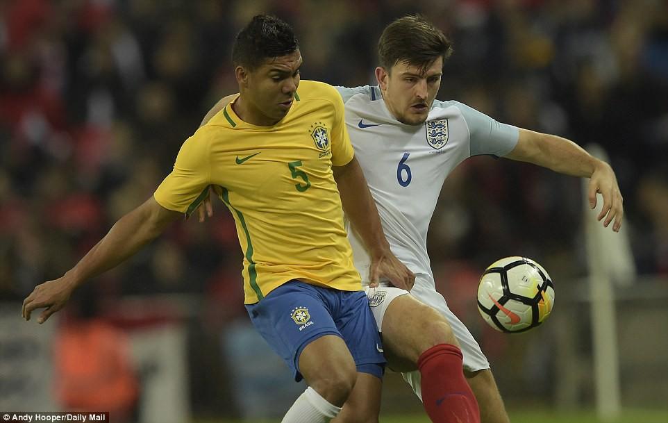 Neymar bất lực, Brazil hòa không bàn thắng với Anh trên sân Wembley - Ảnh 6.
