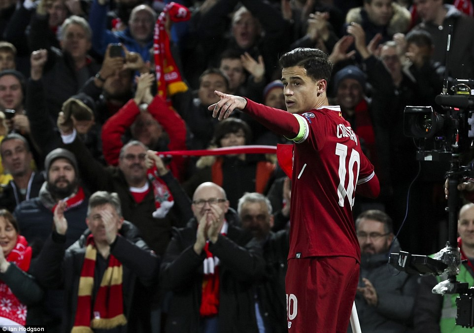 Liverpool thắng đậm 7-0, thẳng tiến vòng knock-out Champions League - Ảnh 3.