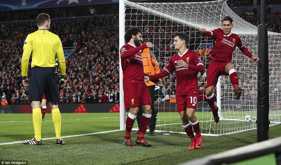 Liverpool thắng đậm 7-0, thẳng tiến vòng knock-out Champions League - Ảnh 2.
